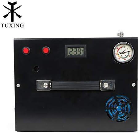 TXET062-1 4500Psi 12V Portable Compressor Converter Inlet 12V/110V Pcp Air Compressor General version for PCP Air Gun Paintball HPA Tanks Filling 300Bar