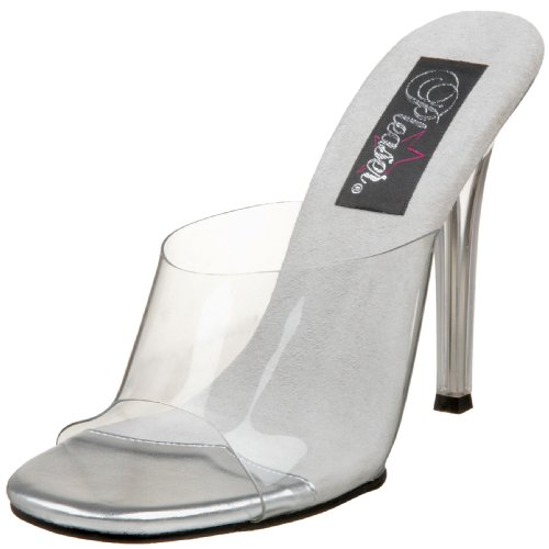 Fabulicious Gala01/C/M, Women Wedge Heels Sandals Transparent (Clear)
