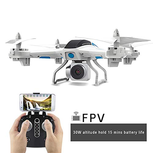 Drone Guard for Beginners, Drone with Camera Live Video, Portable RC Quadcopter, 2.4G Headless Mode Altitude One Key Return 3D Flips and Rolls Toys