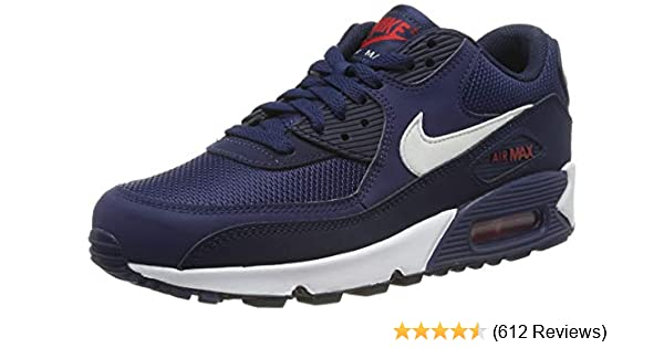 969085bbe03a9c Nike Men s Air Max 90 Essential Low-Top Sneakers