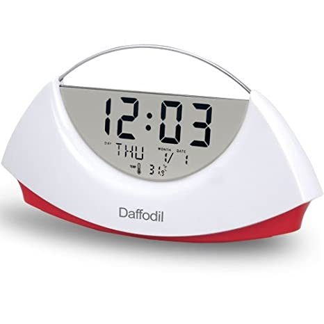 Amazon.com: Daffodil AMC530 Reloj Despertador con ...