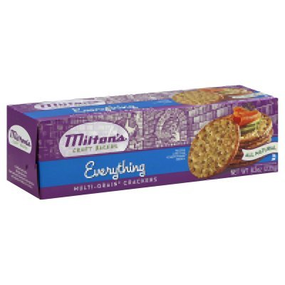 Miltons Everything Gourmet Round Crackers Multigrain 8.3 Oz (Pack of 12) - Pack Of 12