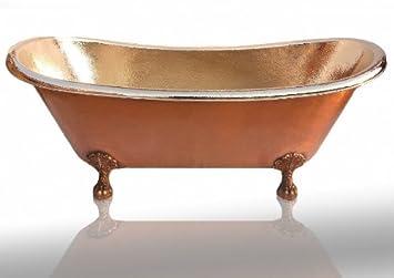 Plata Kupfer Badewanne Retro Design Vintage Alt Badewannen Amazon