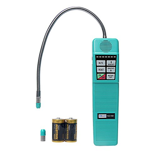 (Signstek Portable AC Refrigerant Halogen Gas Leakage Detector Tester with High Sensitivity)