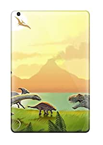 Hot Tpu Shockproof/dirt-proof Dinosaur Cover Case For Ipad(Mini)