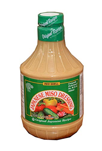 Red Shell Japanese Miso Dressing, 32fl.oz (Pack of -