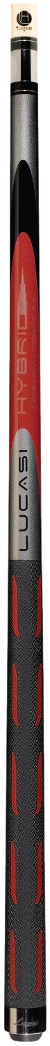 Lucasiハイブリッドl-h30元トレント赤とメタリックシルバーゴルフスタイルTechnology Cue B00F6O29LS  21-Ounce
