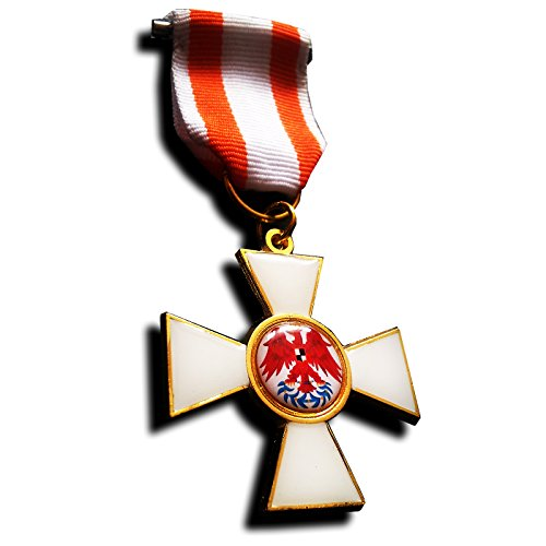Goldbrothers13 Military Medal Order of The Red Eagle 1st Class Prussia Military Medal WW1 German Copy