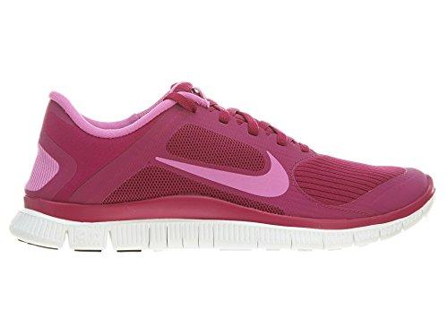 Nike Women's Free 4.0 V3 Bright Magenta/Rd Vlt/Smmt Wht Running Shoe 9 Women US