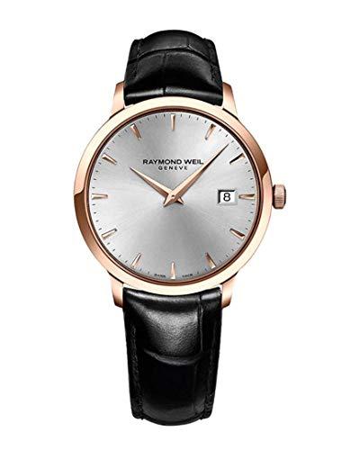 Raymond Weil Mens - Raymond Weil Men's 5488-PC5-65001 Analog Display Quartz Black Watch