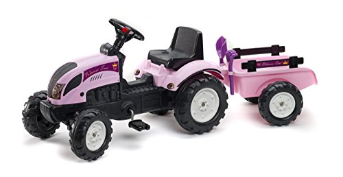 Kiddi-o by Kettler Ranch Trac Ride-Ons with Trailer, Pink ()