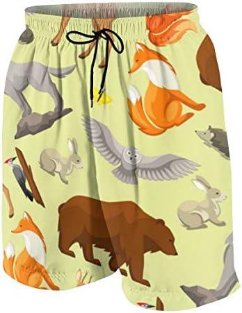 キッズ ビーチパンツ アニマル柄 サーフパンツ 海パン 水着 海水パンツ ショートパンツ サーフトランクス スポーツパンツ ジュニア 半ズボン ファッション 人気 おしゃれ 子供 青少年 ボーイズ 水陸両用