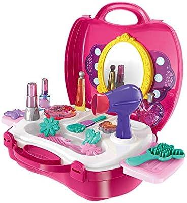Amazon.es: Maquillaje caja de la simulación Juguetes Mini Dressing ...