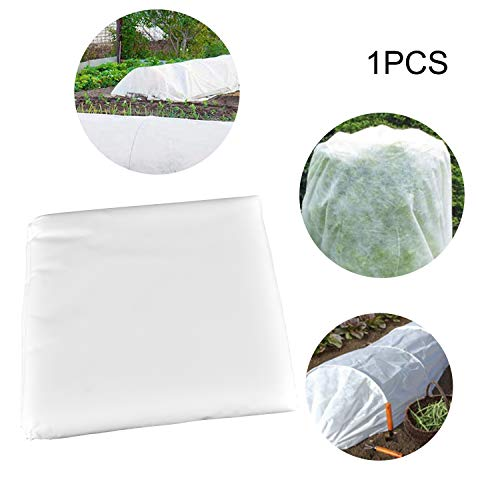 6.6 Ft x 20 Ft, Floating Row Cover Plant Blanket, Premium Plant Covers Freeze Protection Reusable Plant Covers for Winter Frost Freeze Protection for Seed Germination and Frost Protection