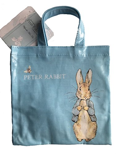 Peter Rabbit - Mini sacchetto rivestito in plastica, 20 cm