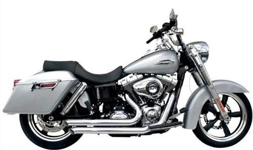 Caliber Legend Series Exhaust System - Street Sweepers - Chrome , Color: Chrome D3S-959 - Samson Legend Series Exhaust