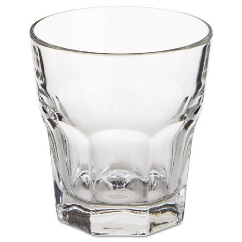 Libbey Gibraltar Rocks Glasses, Tall Rocks, 10 oz, 3 7/8'' Tall - Includes 36 glasses per case.