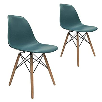 Groovy Apontus 41416 Leisure Eames Style Turquoise Dining Chair Gmtry Best Dining Table And Chair Ideas Images Gmtryco