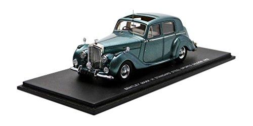 Spark – S3802 – Bentley Mark VI – 1954 – Maßstab 1/43 – Blau Metall