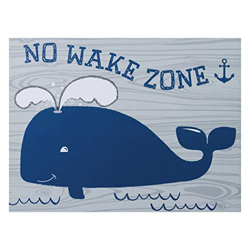 Trend Lab No Wake Zone Canvas Wall Art