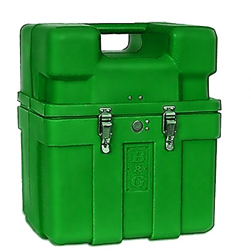 B&G Jumbo Carry Case # 760 (Green) by B&G