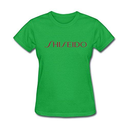 Price comparison product image Dandelion Shiseido Women's T-Shirt XX-Large Forest Green