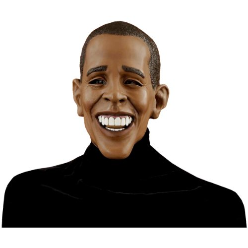 Forum Novelties Men's Barack Obama Deluxe Latex Mask, Brown, One Size