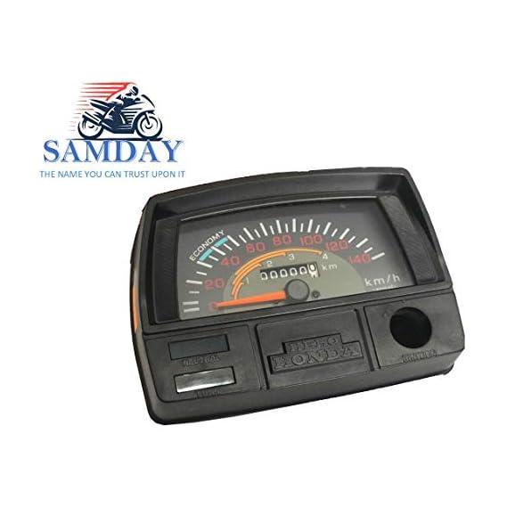 SAMDAY Speedometer Compatible for HERO CD 100 SS (1991-2006) -5538