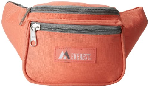 (Everest Signature Waist Pack - Standard, Coral, One Size)