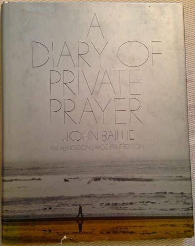 Diary of Private Prayer