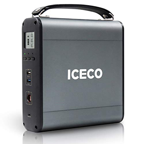 ICECO 200Wh Portable Power Station, Lithium Emergency Battery, Backup Battery for GO Serie, Off-Grid Power Supply, for Outdoor Camping Travel Fishing Hunting