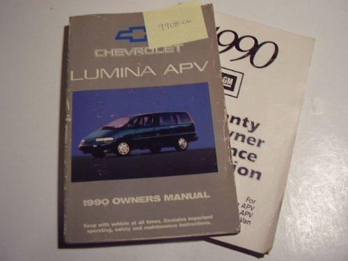1990 Chevrolet Lumina APV Owners Manual
