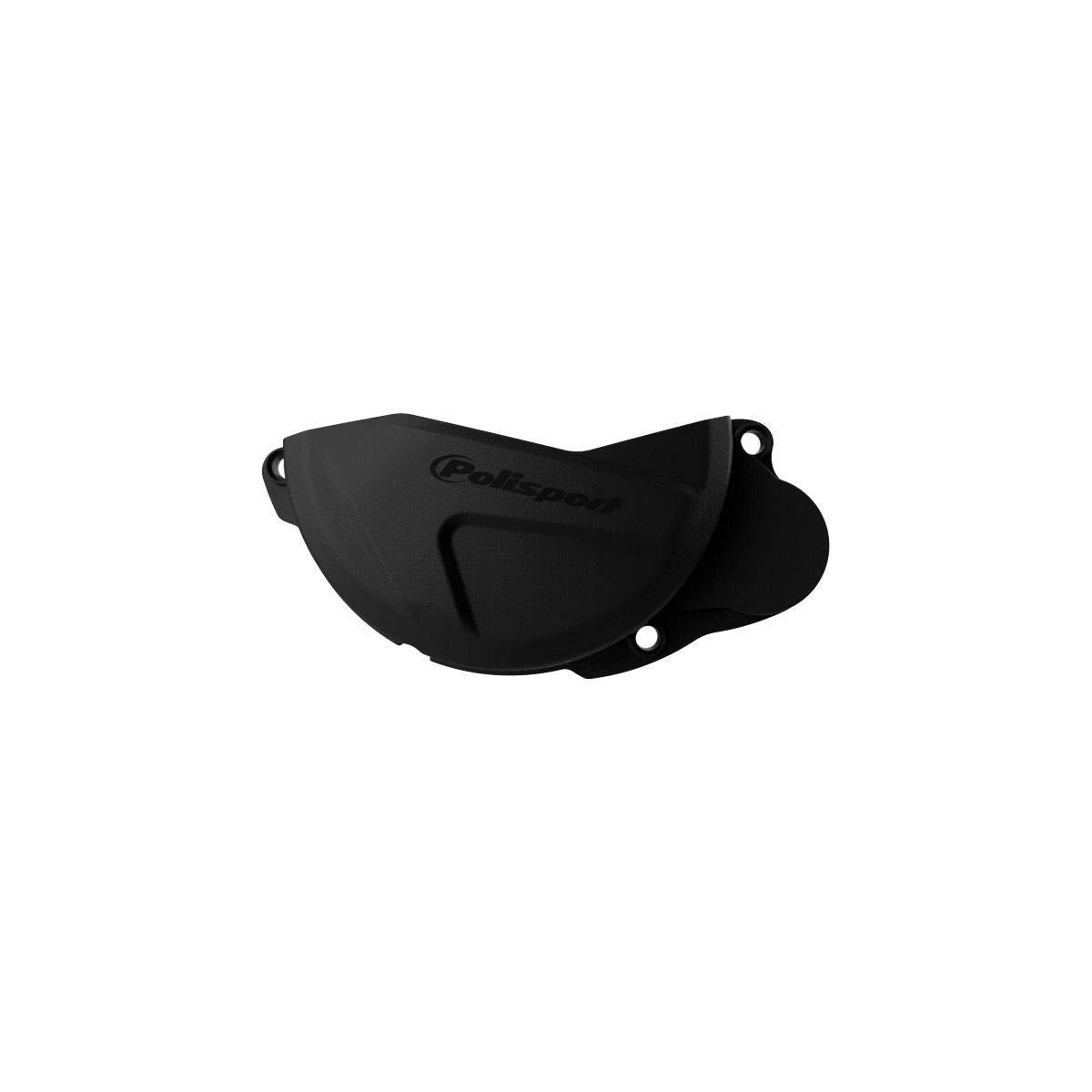 Polisport Clutch Cover Guard Black for 10-16 Honda CRF450R