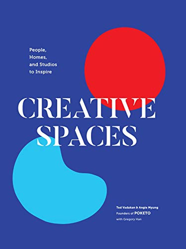 The debut book from acclaimed Los Angeles lifestyle brand Poketo! Creative Spaces: People, Homes, and Studios to Inspire explores the lives, homes, and studios of 23 artistic entrepreneurs, authors, and designers.From a colorful desk in a tiny closet...