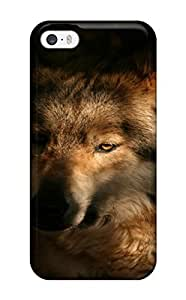 AnnaSanders GrAoSSi4557Doilj Case Cover Iphone 5/5s Protective Case Wolf Animal Wolf