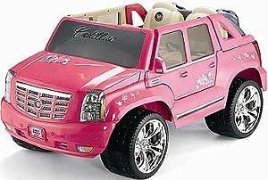Amazon.com: Power Wheels Barbie Pink Cadillac Escalade