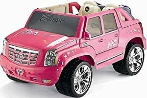 Power Wheels Barbie Pink Cadillac Escalade