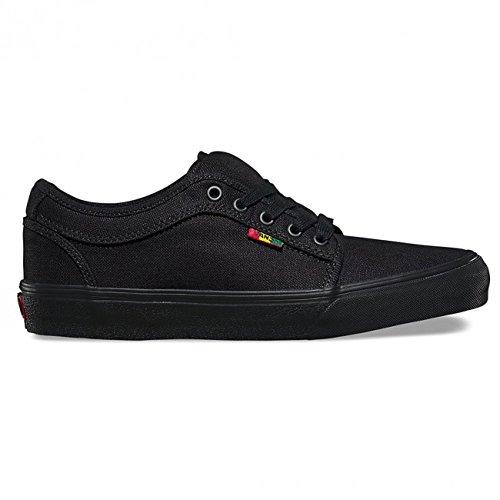 Vans-Mens-Chukka-Low-Skateboarding-Sneakers-Hemp-Black-Rasta