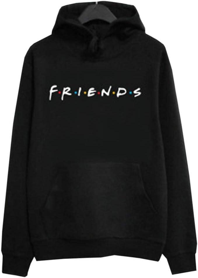 Hoodies Damen Langarm Winter Sweatshirts Pullover mit Print