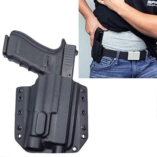 Bravo Concealment: Glock 17 22 31 TLR1-s OWB BCA Light Bearing Gun Holster