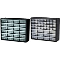 Akro-Mils 24 Drawer Storage Hardware + Akro-Mils 12 Dr.Cabinet