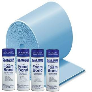 (Gladon 18' x 33' or 16' x 32' Oval Foam Pool Kit)