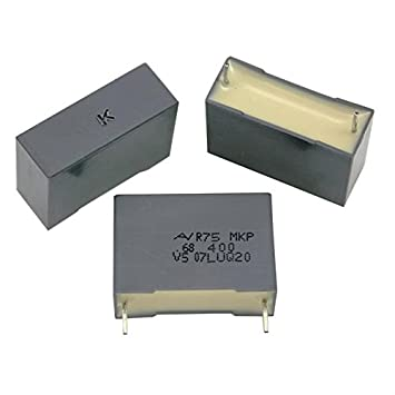 10x MKP-Condensador rad 0,68/µF 400V DC ; 22,5mm ; R75MN3680AA30K ; 680nF