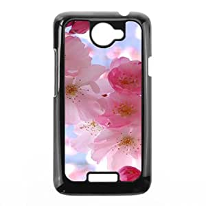 Popular Flower CHA9066652 Phone Back Case Customized Art Print Design Hard Shell Protection HTC One X