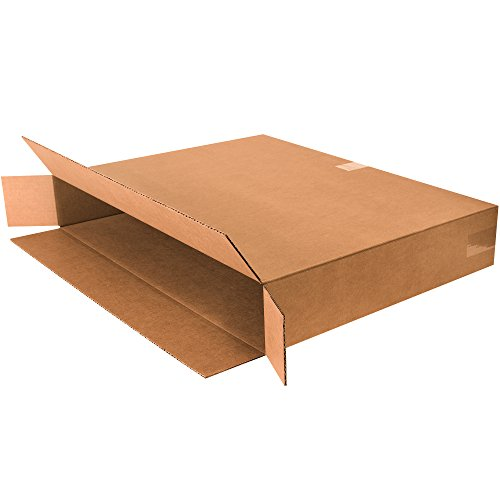 Boxes Fast BF30524FOL Side Loading Corrugated Cardboard Shipping Boxes, 30