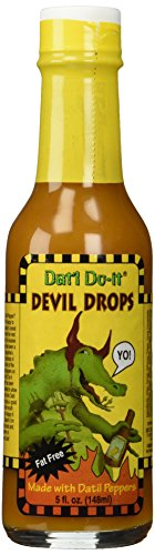 Dat'l Do-It Devil Drops Hot Sauce