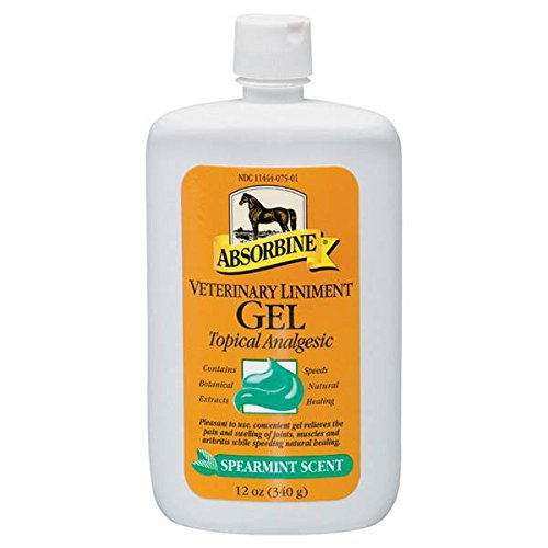Absorbine Veterinary Liniment Gel, 12-Ounce 2 Pack by Absorbine