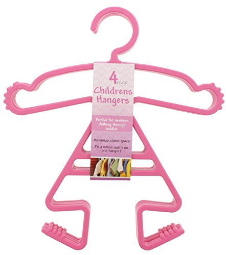 Baby Girls Clothes Hanger Set 12 Pack