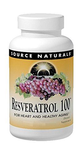 SOURCE NATURALS Resveratrol 100 Mg Tablet, 60 Count ()