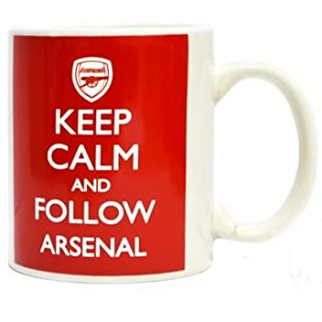 Follow Keep Arsenal Mug Fc Calm And hrBQdCtxs